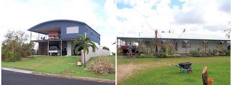 Cyclones & Henrob Self Pierce riveted steel frame houses