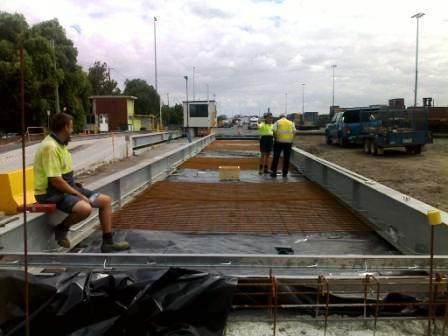 Ultrahawke weighbridges installed at P&O Ports