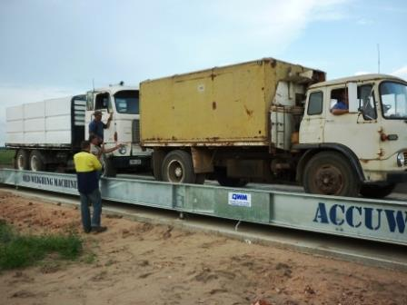 Heavy duty weighbridge for seed exporter