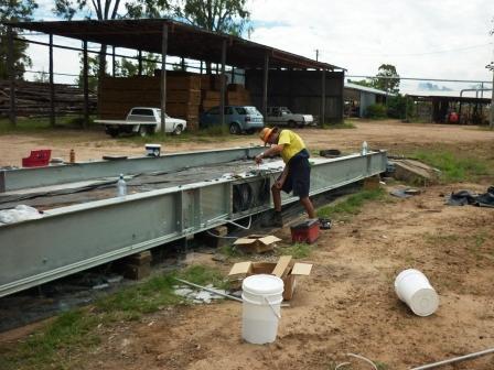Custom weighbridge design eliminates need for new foundations