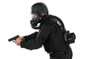 MSA Responder: for non-IDLH respiratory protection