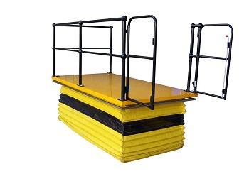 Scissor lift table solves Qld hospital's safety hazard