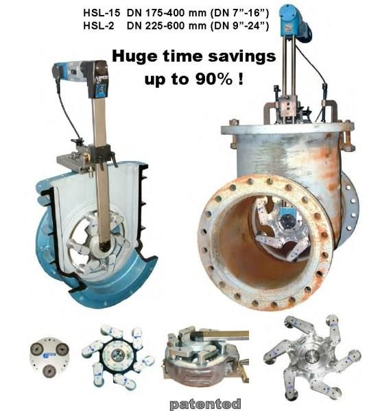Efco German valve repair and testing equipment