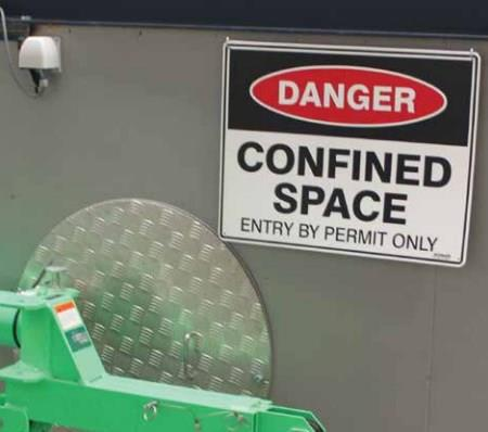 Confined space - a death trap in waiting