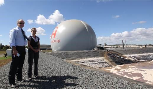 Grazier's daughter becomes driver of world-first green energy plant