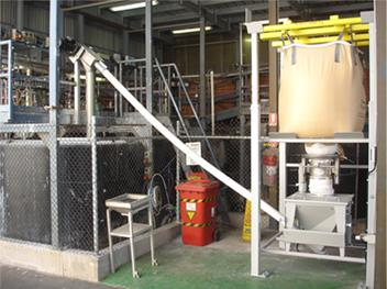 Soda ash system reduces costs of raw materials