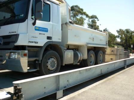 Weighbridge service & calibrations for city council