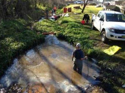 Innovative approach to Bega oil spill saves $280k
