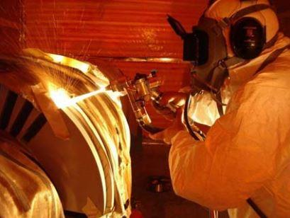 Using silver metal spray coatings in engineering applications
