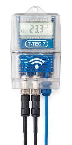 Wireless Temperature Data Loggers | T-TEC 7