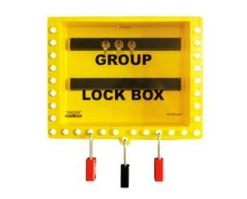 Wallmounted Group Lockout Box | GLB-8 Lockout Box