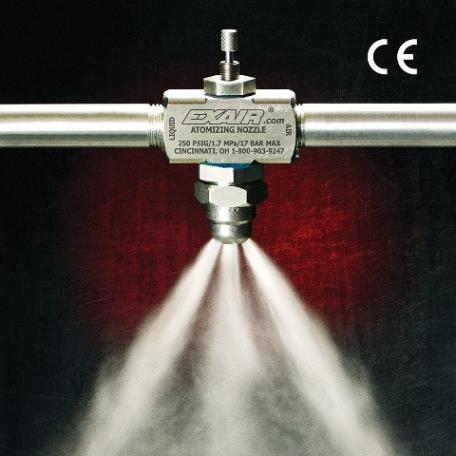 New Large Internal Mix Spray Nozzles | EXAIR