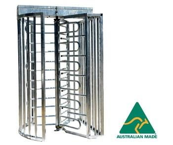 Full Height Australian Made Security Turnstiles | TriStar FH