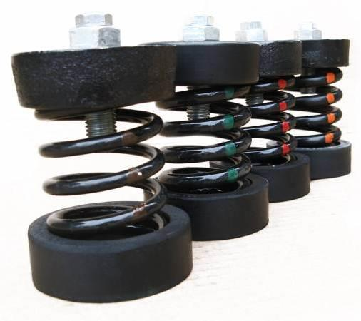 Rubber Vibration Isolation Spring Mounts