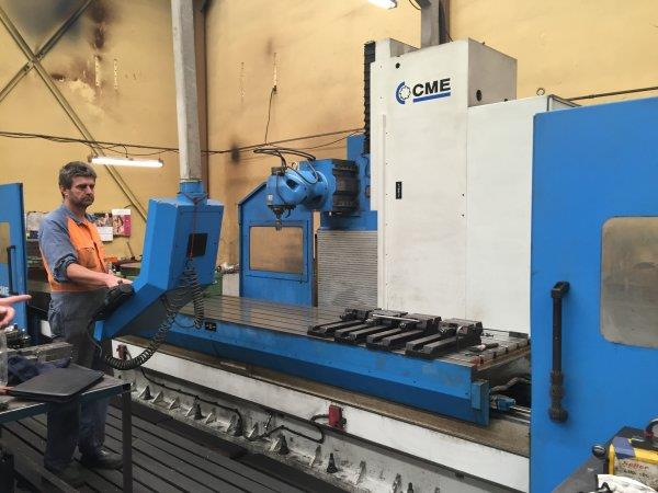 CME CNC Bed Mill 4000mm x 1000mm x 1500mm