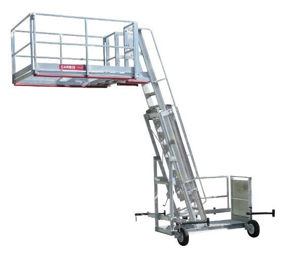 Freestanding Mobile Platform Ladder | TC10