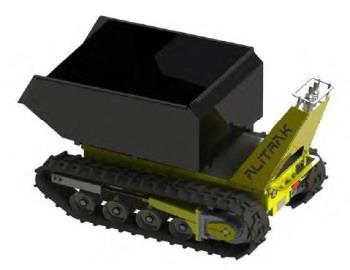 Battery Electric Tracked Dumper | Alitrak Australia DCT300
