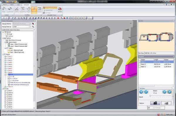3D Bending Program | Metalix MBend