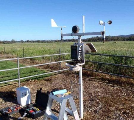Feedlot Weather Station Applications