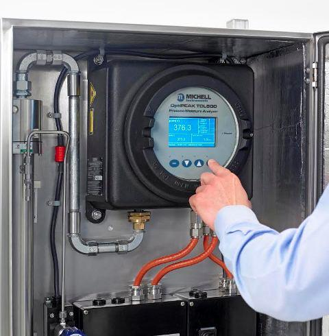 Moisture Analyser for Natural Gas