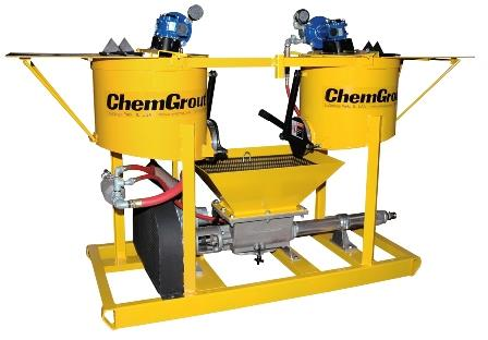 Grouting Mixers   ChemGrout