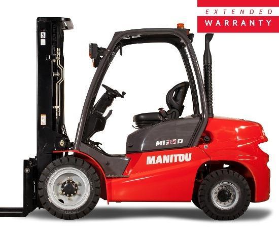 Industrial Forklifts - Promotion | Manitou MI