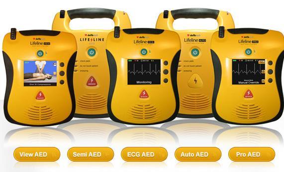 Lifeline AED Defibrillators Saving Lives with Award-Winning Defibtech