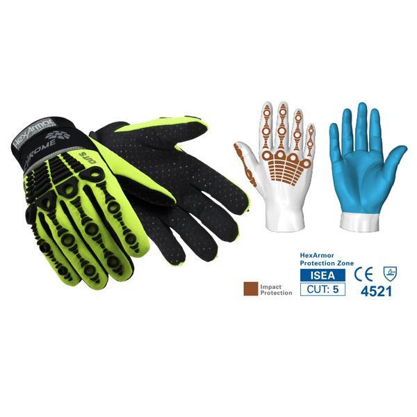Impact Protection Safety Gloves | HexArmor Chrome Series™ 4026