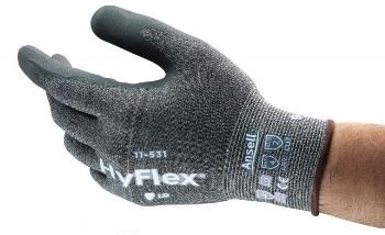 Cut Resistant Gloves with Ansell Grip | HyFlex 11-531