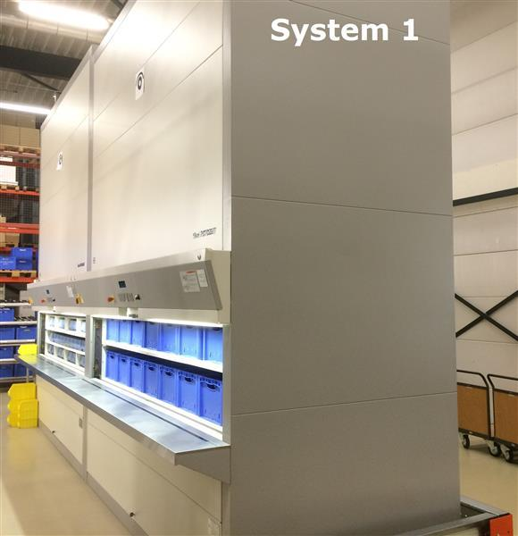 SOLD - Used Storage Systems   Hänel Rotomat