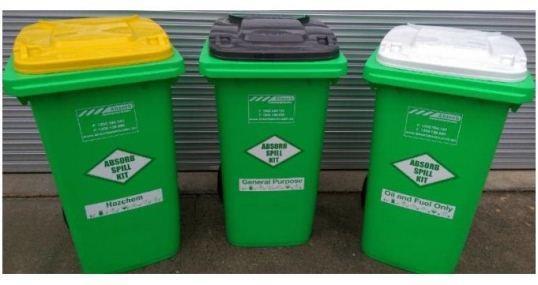 New Spill Kit Waste Bin