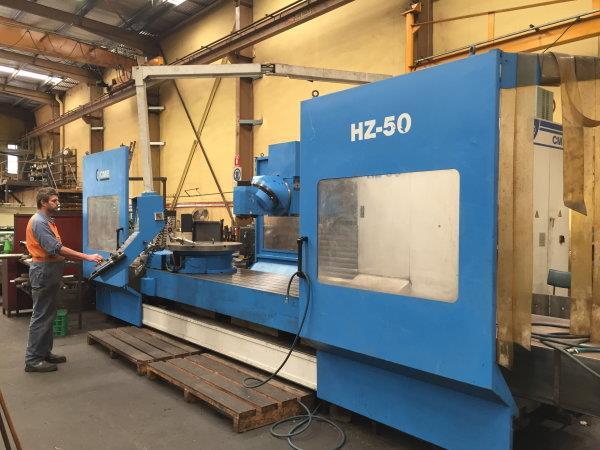 CME CNC Bed Mill 3000mm x 1200mm x 1030mm