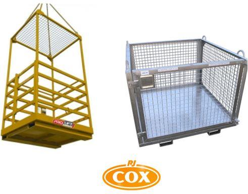 Safety & Goods Cages for Cranes | WP-C