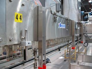 Air Conveyor Systems for Beverage plants