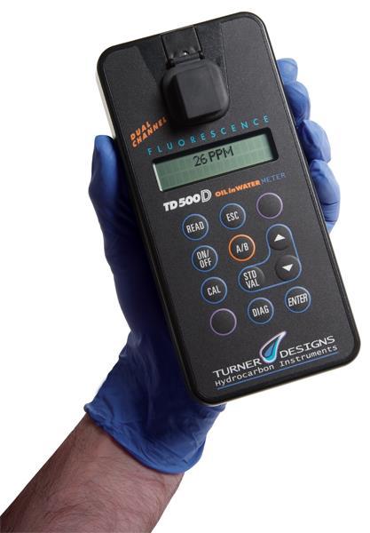 Portable Handheld Oil in Water Analyser   TD-500D