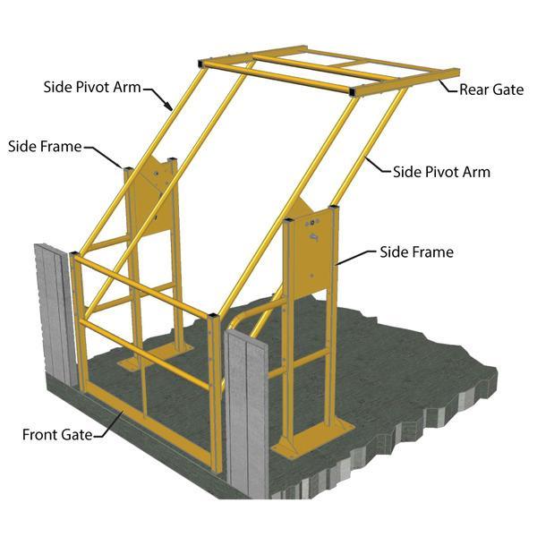 Mezzanine Access Gates | MHA
