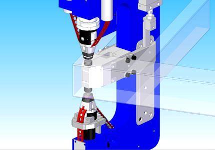 E-Frame Tool for Riveting