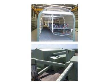 Fully Enclosed Gallery & Conveyor System   Redispan®