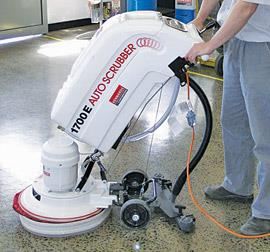 """16"""" 240V Walk Behind Scrubber for Hire   1020535"""