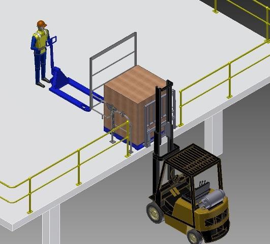 Pallet Gate | High Level Safety Barrier