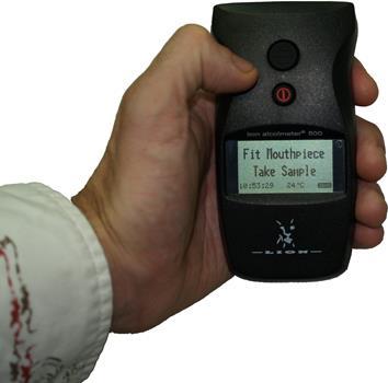 Breath & Breathalyser Testing Unit | Lion Alcolmeter® 500
