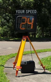 """Speed Awareness Sign 