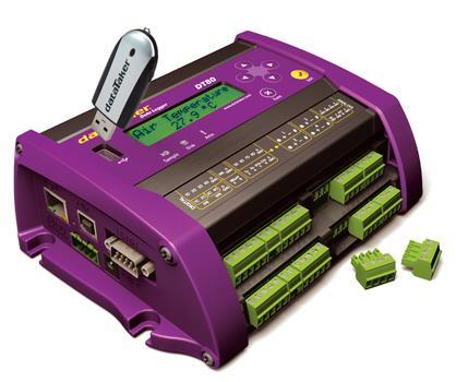 Data Loggers   dataTaker DT8X Series