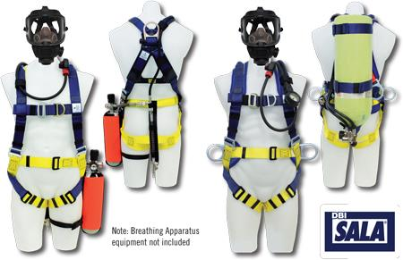 Breathing Apparatus Fall Protection   Full Body Harnesses Range