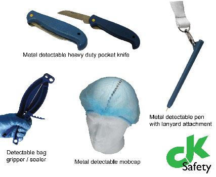 Detectamet | Metal Detectable Products | CK Safety