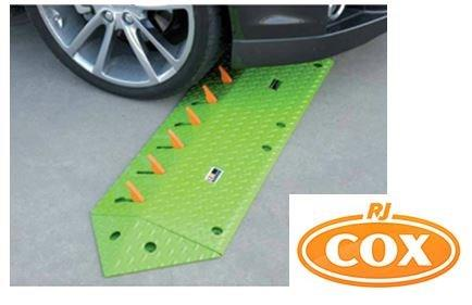 Blade Runner One Way Access Spikes - Supplied by R.J. Cox Engineering