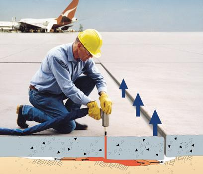 Slab Lifting – Resupporting, Relevelling On-Ground Slabs & Buildings