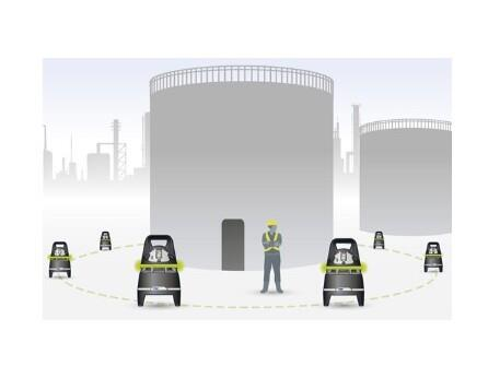 Dräger X-Zone 5000 State-of-the-art in gas detection area monitor