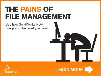 SolidWorks EPDM. Pain Management is Here.