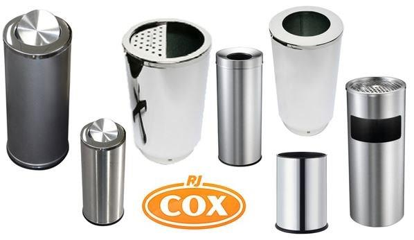Litter / Ashtray Combination Hospitality Bins Stainless Steel Quality
